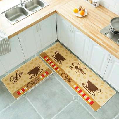 2pcs kitchen mat set image 1
