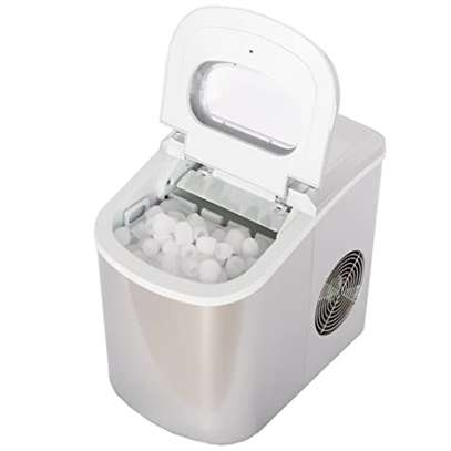 Household Automatic Small Ice Machine 12kg / 24h Portable image 1