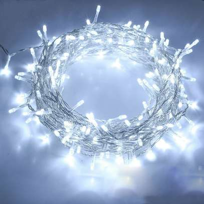 10M 100LED Fairy String Lights Mains Plug In Wedding Party Indoor Outdoor Decor image 1