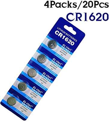 CR1620 button battery 3V lithium battery. image 1
