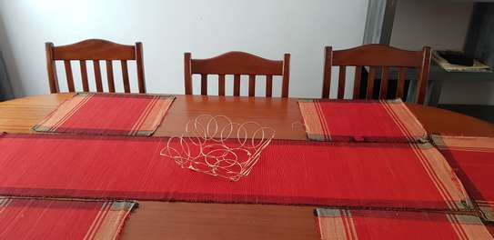High quality Mahogany 8 Seater Dinning Table Set image 2