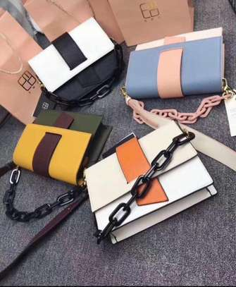 Chain leather sling  Bags image 2