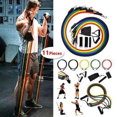 11 pieces resistance gym set image 1