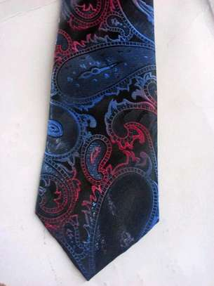 Floral 100% Silk Ties For Men. Free Delivery!!! image 3
