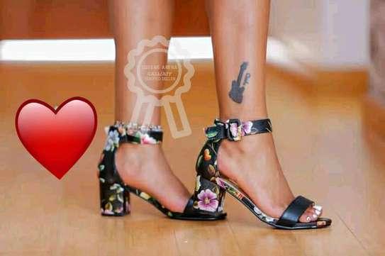 Trendy Chunky Heels image 5