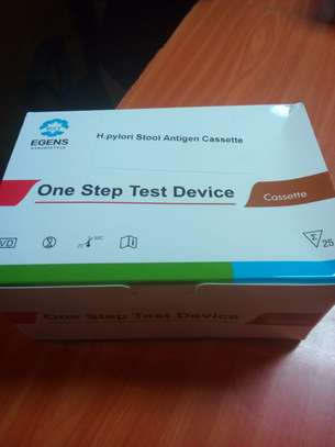 H.PYLORI STOOL ANTIGEN CASSETTE / ONE STEP TEST DEVICE -25PACK image 1