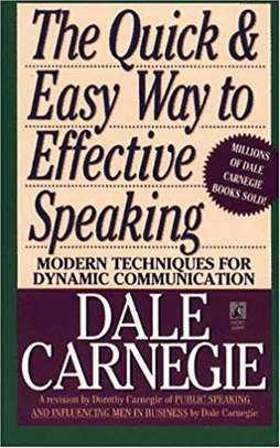 The Quick and Easy Way to Effective Speaking Mass Market Paperback – March 1, 1990 by Dale Carnegie  (Author) image 1