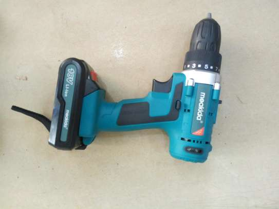 Meakida Cordless Drill 18V image 1