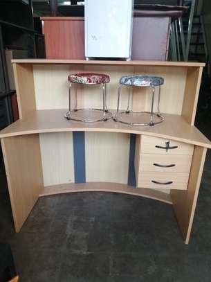 Curved Reception Office Desk image 5
