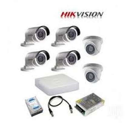 6 CCTV CAMERA COMPLETE PACKAGE image 1