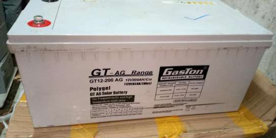 Gaston Polygel GT-AG Rechargeable Solar Battery 12v200ah20hr image 1