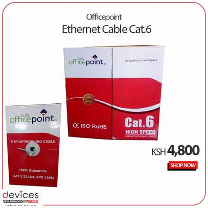 Officepoint Cat6e  Ethernet  Cable