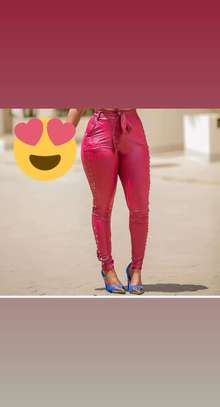 Ladies fashion trousers image 1