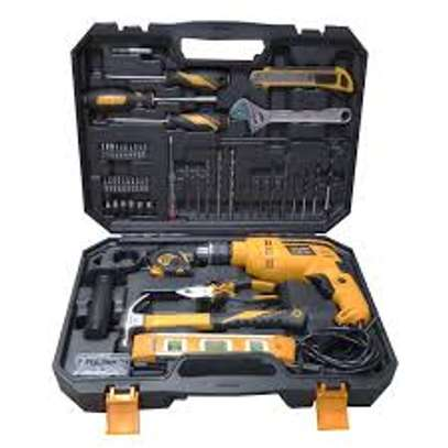 HAMMER DRILL WITH 95PCS TOOLS SET image 2