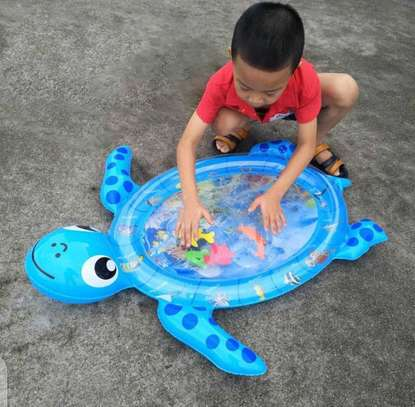 Baby inflatable water play mat. image 10