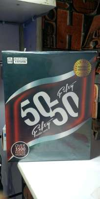 50/50 Fifty Fifty kenya Board Game image 1