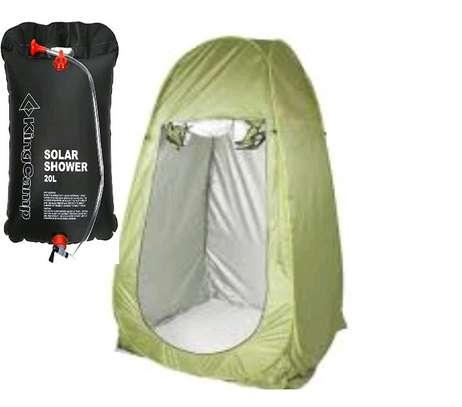 camping showering set , tent+ solar shower. image 4