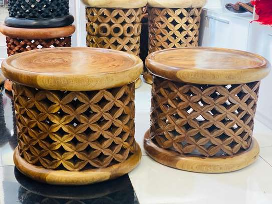 African Bamileke coffee tables image 1