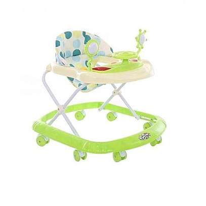 Baby Walker with Baby Melodies - Green image 1