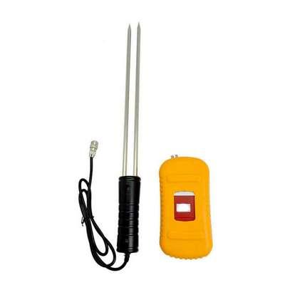 Digital Rice Corn Paddy Wheat Grain Moisture Humidity Meter Tester Gauge image 1