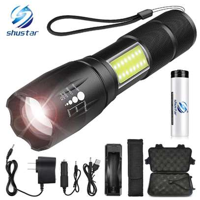 NEW Led Rechargeable Torch Spot image 2