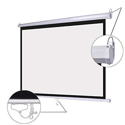 Manual Wall mount Projection Screen