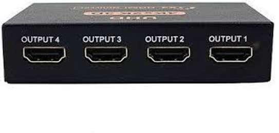 4 PORT HDMI SPLITTER image 1