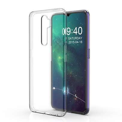 Clear TPU Soft Transparent case for Oppo A5 2020/A9 2020 image 2
