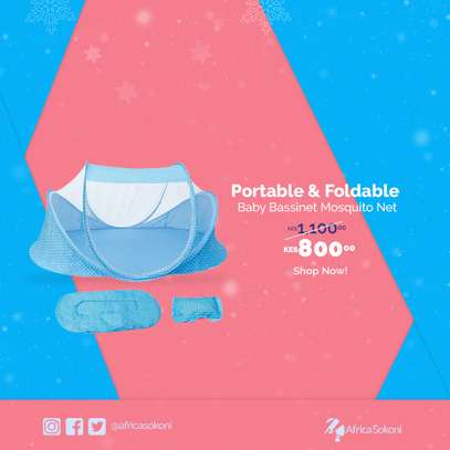 Portable and Foldable Baby Bassinet