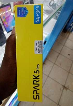 "Tecno Spark 5 Pro 6.6"", 3GB + 64GB, (Dual SIM),16MP -5000mAh image 1"