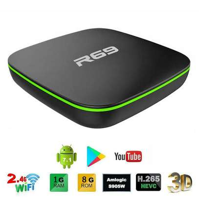 R69 Android 7.1 Smart TV Box 1+8G Quad Core HD 2.4GHz WiFi 4K image 1