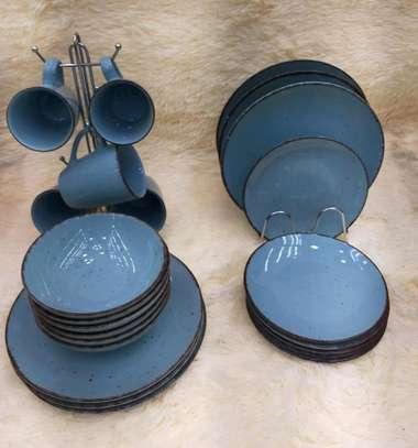 Dinner set/24pcs ceramic dinner set. image 4