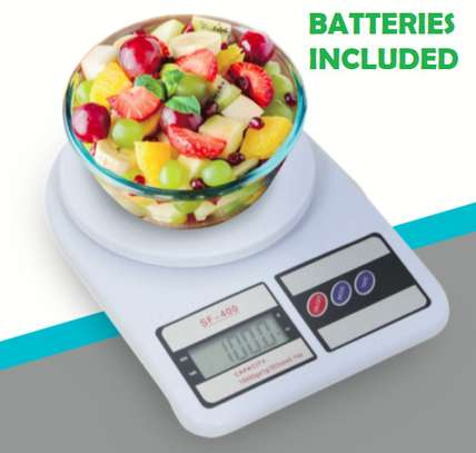 10kg Digital Kitchen LCD Electronic Household Food Cooking Scales Weighing image 1