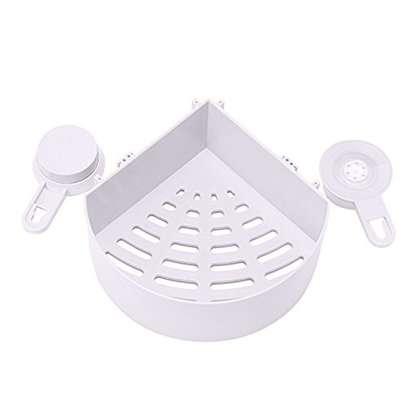Triangle Suction Bathroom Shelves image 2