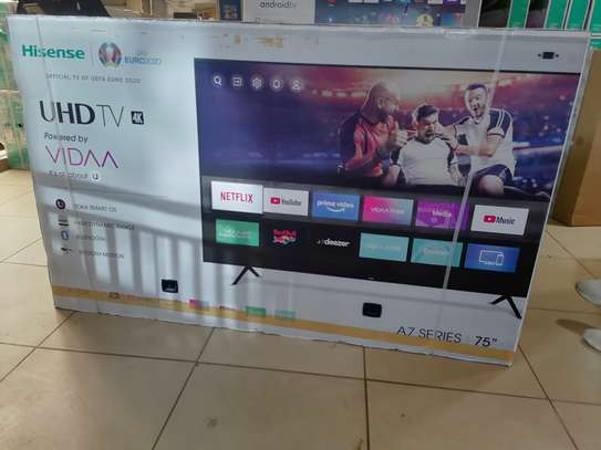 Hisense 75 inch smart 4k uhd led TV image 2