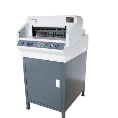 (450VS+) Industrial A4 Mechanical Guillotine Paper Cutter factory price image 1