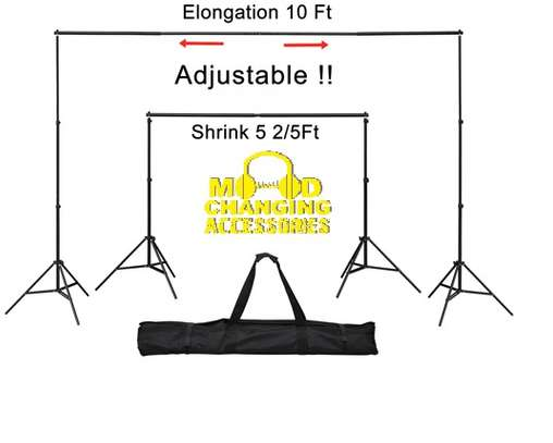 Adjustable Backdrop Stands , Exhibiton Stand, Event Stand, Background Stand image 3