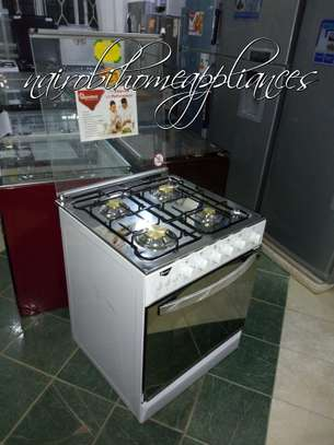 Ramtons White 60x60cm 4 Gas Burners