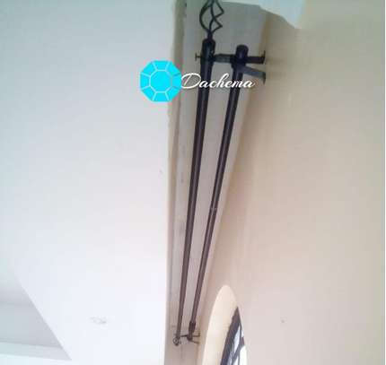 2 metres curtain rods image 1