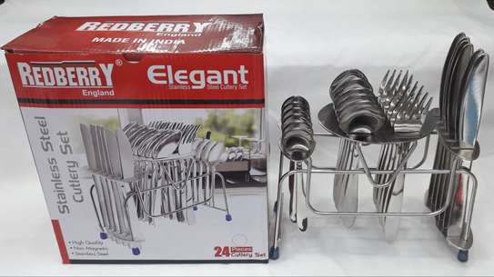 24 pieces Redberry Cutlery set image 1