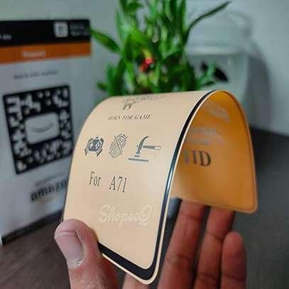 Ceramic Full 5D Glass Protector Flexible Anti-Break,Anti-Fingerprint for Samsung A71 A31 A51 image 2
