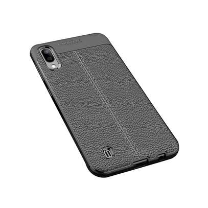 Auto Focus Leather Pattern Soft TPU Back Case Cover for Samsung M10 M20 M30 image 9