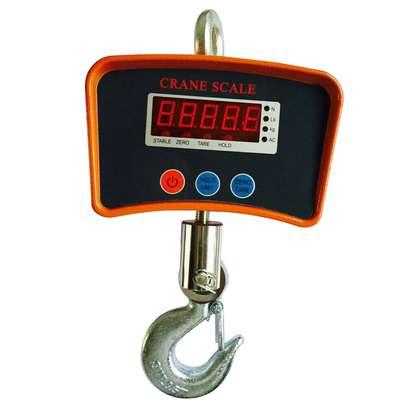 500 KG / 1100 LBS Digital Crane Scale Heavy Duty Industrial Hanging Scale kg/lb image 2