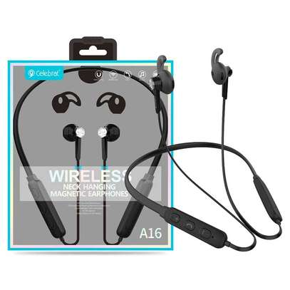 Celebrat 16 High Sound Quality Wireless Earphones image 1