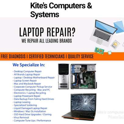 Laptops repair service and maintenance.