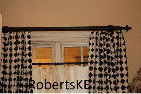 affordable unique curtain rod image 1