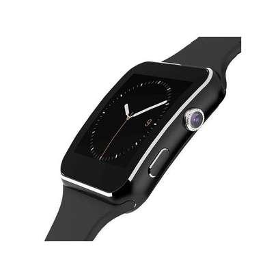 Smart Watch Phone MTK6260 Camera - Black image 1