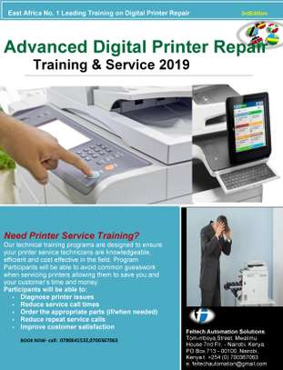 Advanced Digital Printer Repair Training.