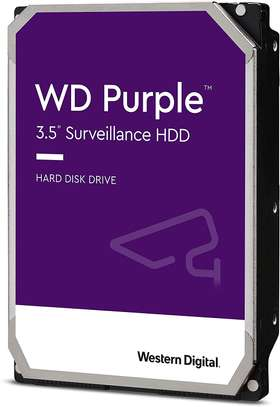 WD Purple Surveillance Hard Drive - 4 TB image 1