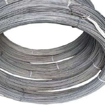 Galvanized ht wire image 1
